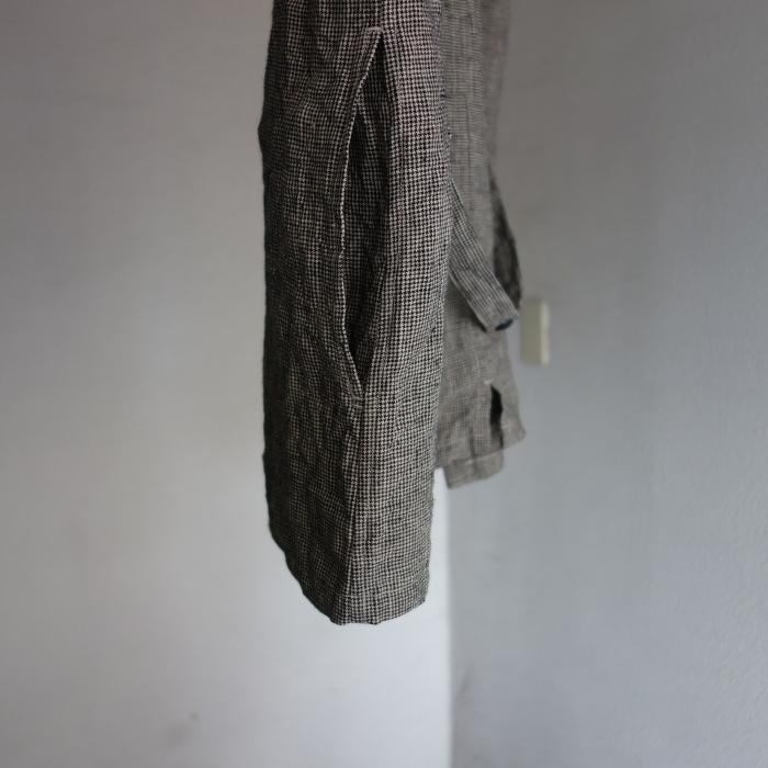 6月の製作 / classic linen artisanal vest_e0130546_13044120.jpg
