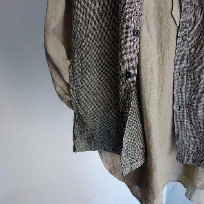 6月の製作 / classic linen artisanal vest_e0130546_13055942.jpg