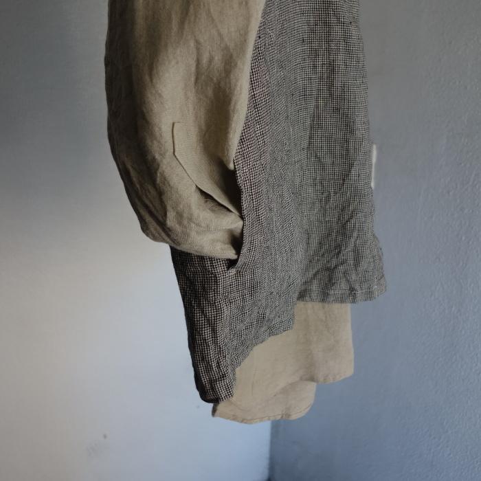 6月の製作 / classic linen artisanal vest_e0130546_13061338.jpg