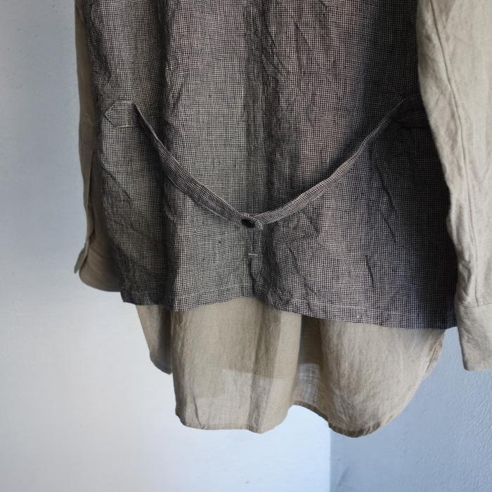 6月の製作 / classic linen artisanal vest_e0130546_13064509.jpg