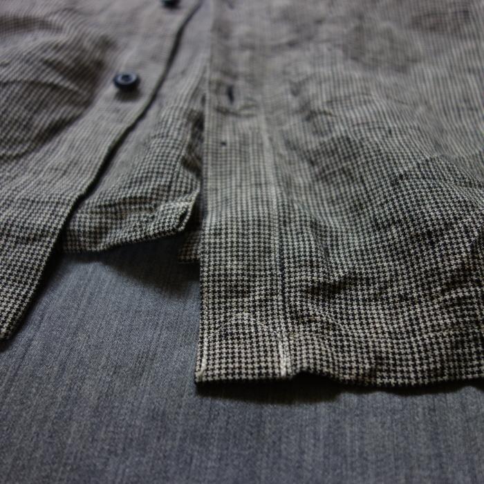 6月の製作 / classic linen artisanal vest_e0130546_13074074.jpg