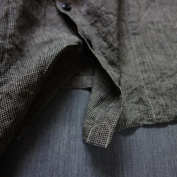 6月の製作 / classic linen artisanal vest_e0130546_13093872.jpg