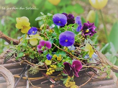お部屋で、春の野を…♪_c0098807_18001255.jpg