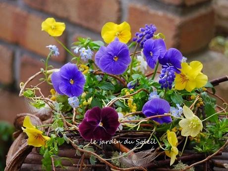 お部屋で、春の野を…♪_c0098807_18002617.jpg
