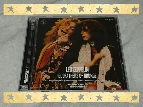 4/22宣言下15日目(休日5日目)LED ZEPPELIN / GODFATHERS OF GRUNGE_b0042308_11532420.jpg