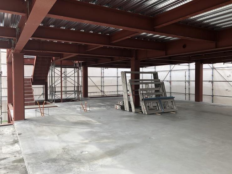 りぶうぇる練馬ディサービスセンター(14)  コンクリート打設後_b0074416_08070886.jpeg