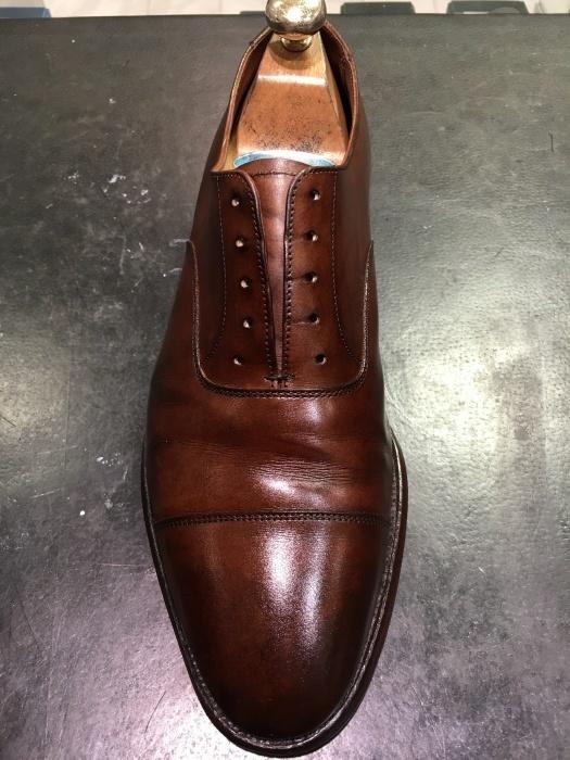 【おうちで靴磨き】気になる革靴クリーニング_b0226322_14134946.jpg