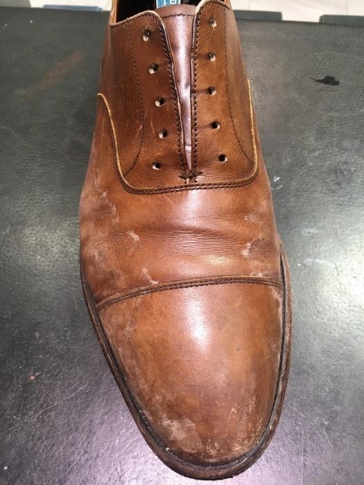 【おうちで靴磨き】気になる革靴クリーニング_b0226322_14134973.jpg