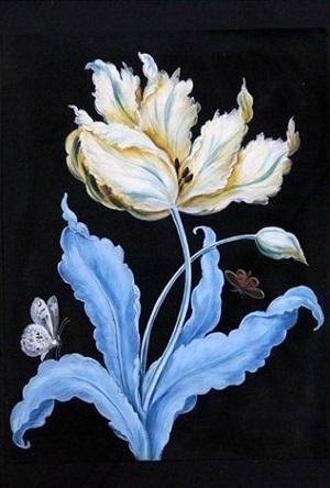 Barbara Regina Dietzsch画のチューリップ_c0084183_10350489.jpg