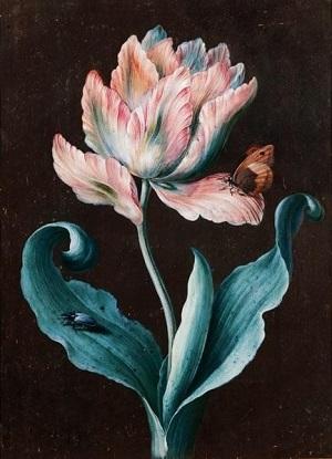 Barbara Regina Dietzsch画のチューリップ_c0084183_10351027.jpg