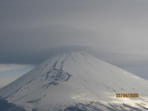 4/22  昨日の富士山_e0185893_07215156.jpg