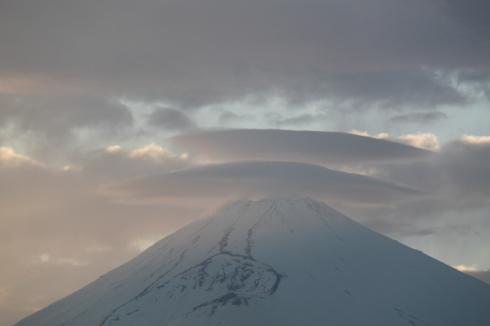 4/22  昨日の富士山_e0185893_07240085.jpg