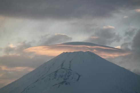 4/22  昨日の富士山_e0185893_07280214.jpg