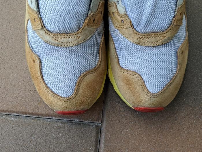 おうちで靴磨き スニーカーのスエード補色。2_b0226322_13521949.jpg