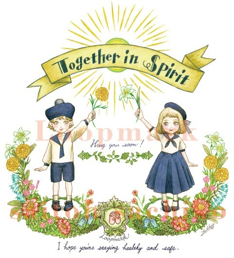 「Together in Spilit」チャリティーグッズ販売 in suzuri_f0228652_23512119.jpg