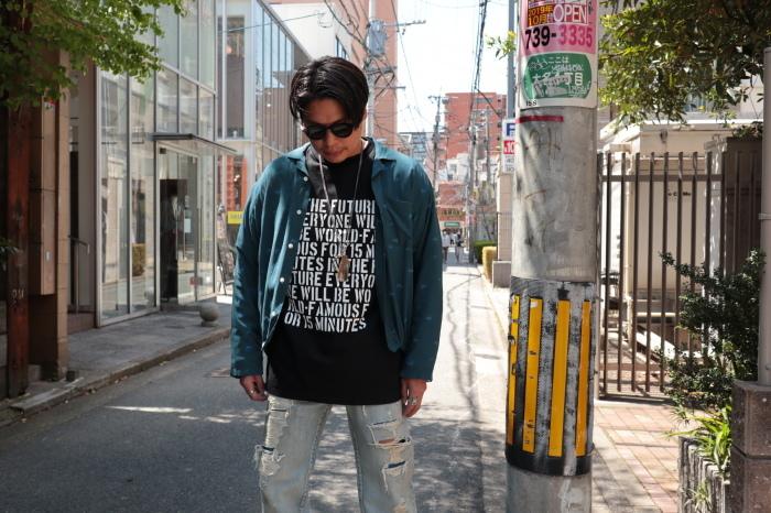 WELLDER : Drawstring Shirt  入荷_f0224266_15070778.jpg