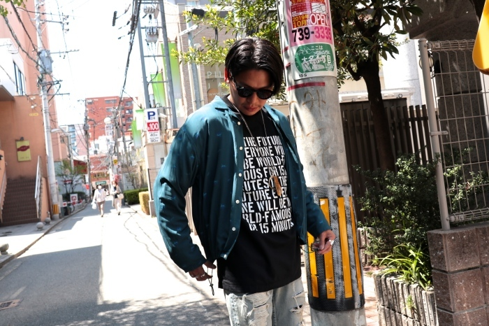 WELLDER : Drawstring Shirt  入荷_f0224266_15072229.jpg