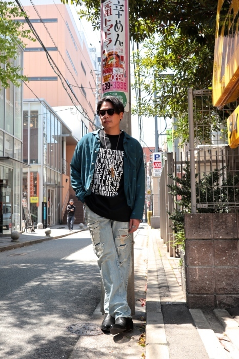 WELLDER : Drawstring Shirt  入荷_f0224266_15133065.jpg