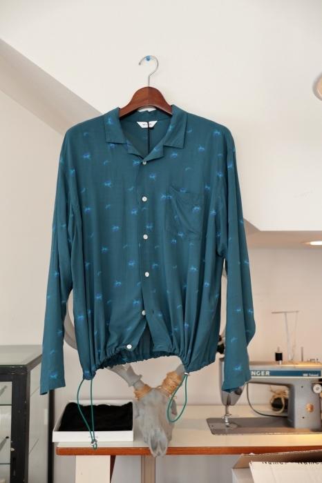 WELLDER : Drawstring Shirt  入荷_f0224266_15241974.jpg