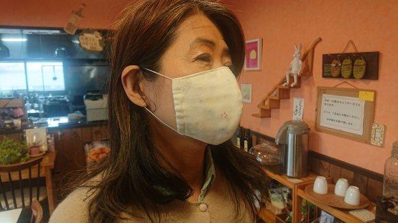 COZYさん手作りのマスク入荷してます_b0219977_10525129.jpg