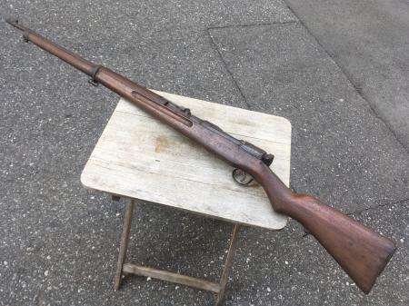 三八式教練銃・旧加工の無可動実銃。_a0154482_18022411.jpg