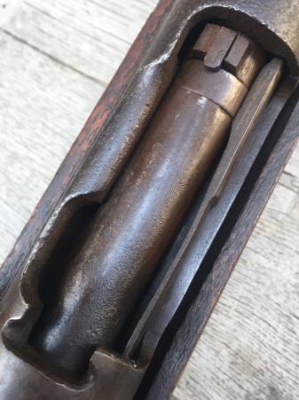 三八式教練銃・旧加工の無可動実銃。_a0154482_18022731.jpg