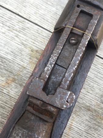 三八式教練銃・旧加工の無可動実銃。_a0154482_18032510.jpg