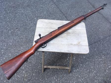 三八式教練銃・旧加工の無可動実銃。_a0154482_19285357.jpg