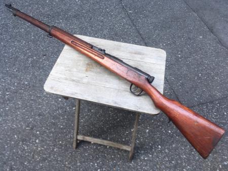 三八式教練銃・旧加工の無可動実銃。_a0154482_19285590.jpg