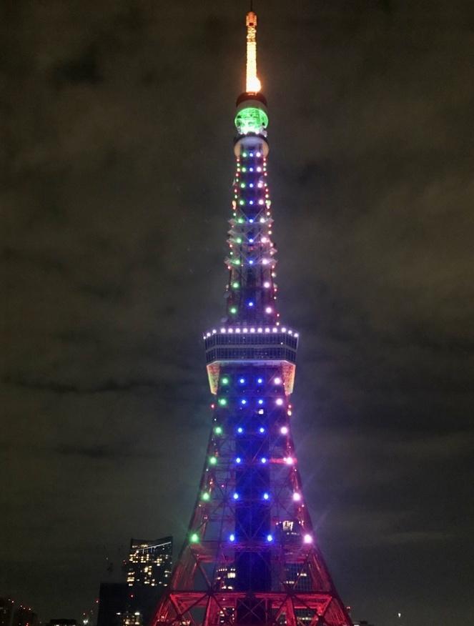 東京タワーと乾杯🍻11/10_c0180686_22350845.jpeg