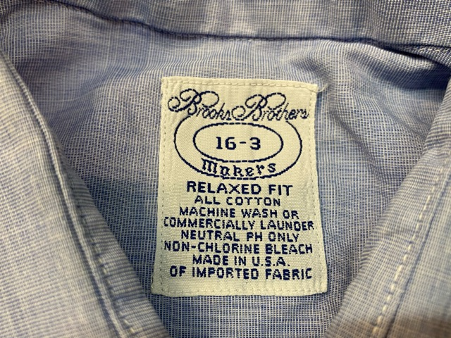 U.S.Madeのシャツを色々!!(マグネッツ大阪アメ村店)_c0078587_18512727.jpg