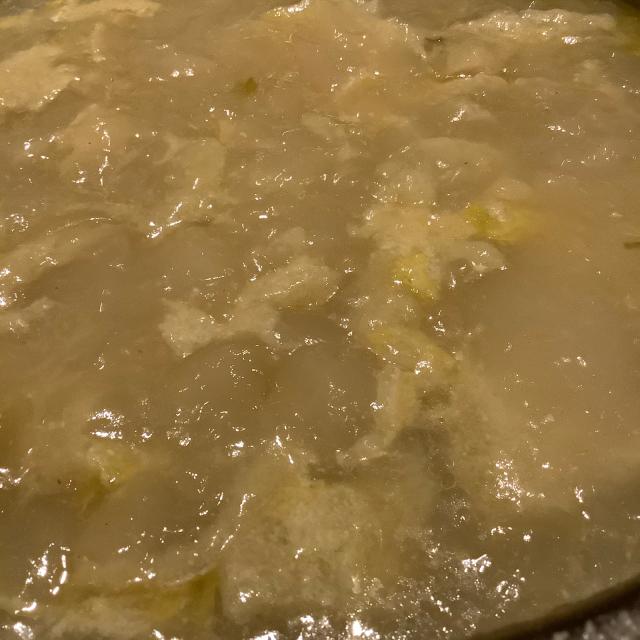 手羽1キロと野菜でスープを取る。_a0334793_21392806.jpg