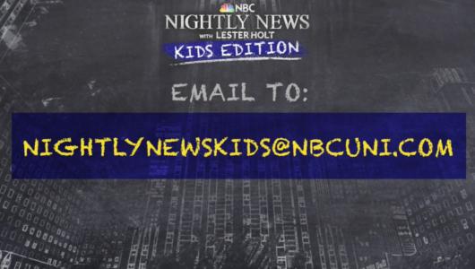 NBCの夜の看板ニュース番組(Nightly News)、子ども版(Kids Edition)はじめる_b0007805_10374513.jpg