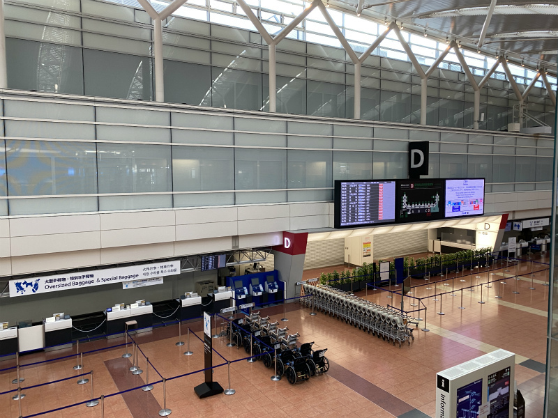 羽田空港第2ビルから出発です。_e0181908_16013278.jpg