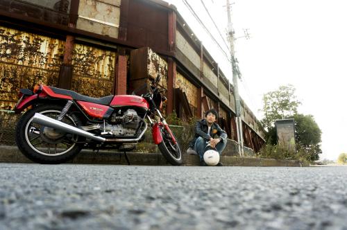 山﨑 達矢 & Moto Guzzi V35 Imola(2019.11.02/FUNABASHI)_f0203027_13010027.jpg
