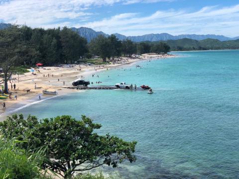 ラニカイビーチとハワイ出雲大社_c0340332_19095399.jpg