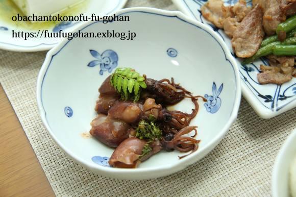 今日の焼き鳥丼和風弁当&昨夜のおいしいもんをちょっとずつ和膳_c0326245_12051558.jpg