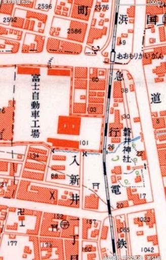 大森海岸~磐井神社の堀跡、ホテル街散策_d0250051_20365422.jpg