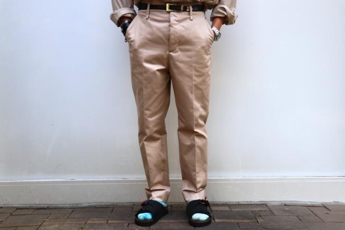 JOHN MASON SMITH : CLASSIC BUCKLE BUCK PANTS_f0224266_16392443.jpg