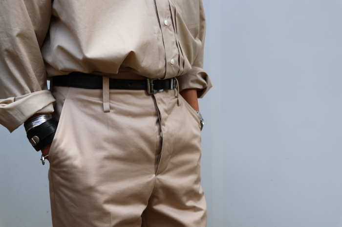 JOHN MASON SMITH : CLASSIC BUCKLE BUCK PANTS_f0224266_16393743.jpg