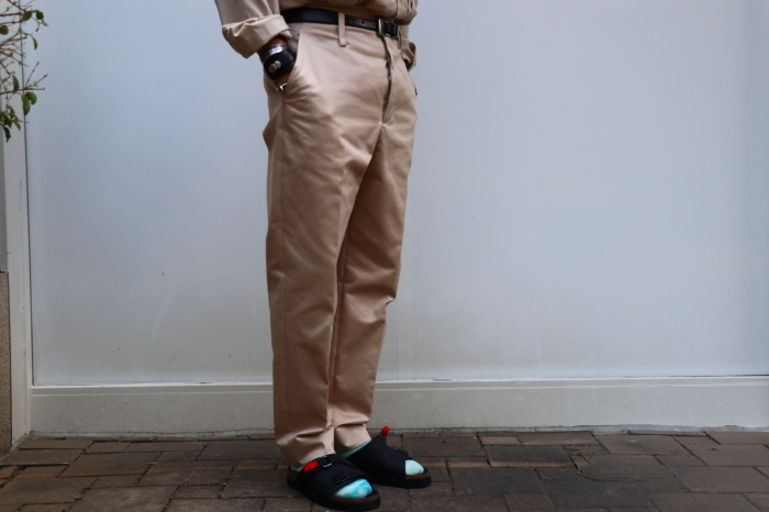 JOHN MASON SMITH : CLASSIC BUCKLE BUCK PANTS_f0224266_16394447.jpg