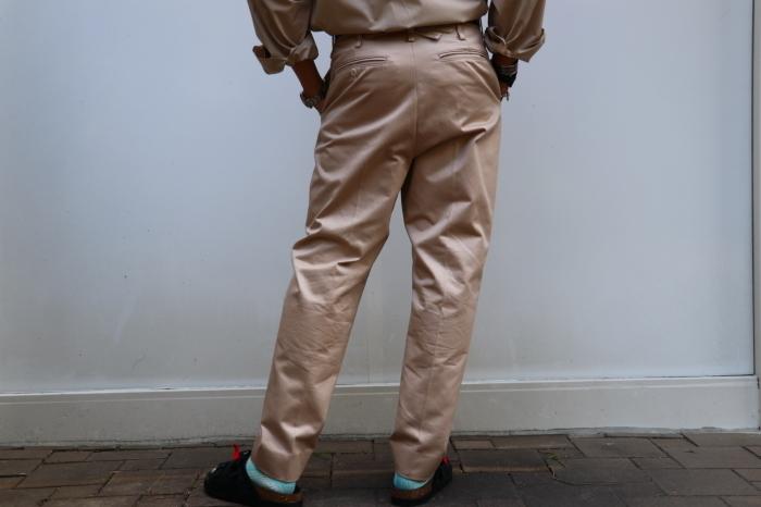 JOHN MASON SMITH : CLASSIC BUCKLE BUCK PANTS_f0224266_16395119.jpg