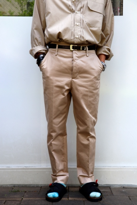 JOHN MASON SMITH : CLASSIC BUCKLE BUCK PANTS_f0224266_16395887.jpg