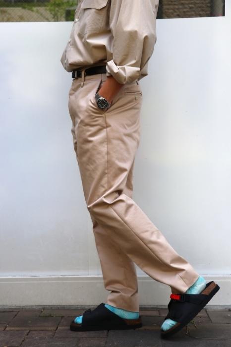 JOHN MASON SMITH : CLASSIC BUCKLE BUCK PANTS_f0224266_16401193.jpg