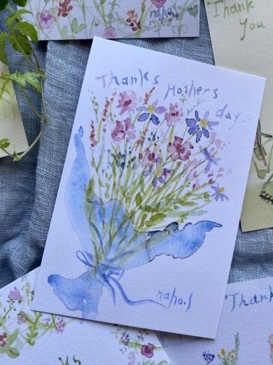 ありがとうの気持ちを込めて 〜母の日に送るカード〜_c0334574_14255022.jpeg