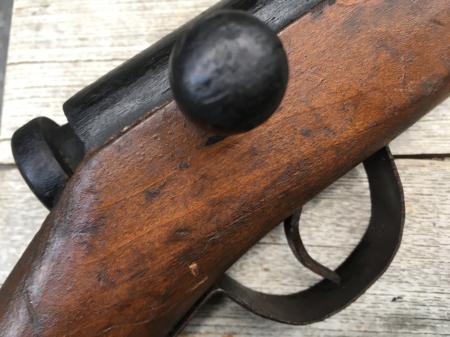 三八式教練銃・機関部木製の無可動模擬銃。_a0154482_23085742.jpg