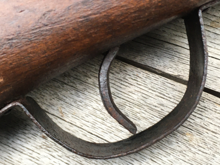 三八式教練銃・機関部木製の無可動模擬銃。_a0154482_23085843.jpg