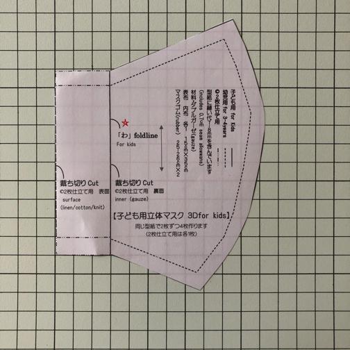『手作りマスクQ&A』素材の選び方・立体マスクの型紙の使い分けなどにお役立てください(2020保存版)_f0023333_17464918.jpg