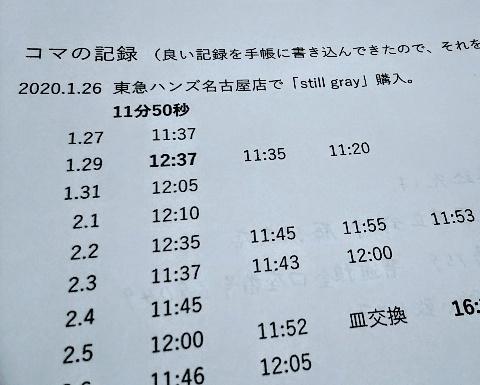 4/22(水) 「20分57秒」回りました!_a0272042_17302671.jpg