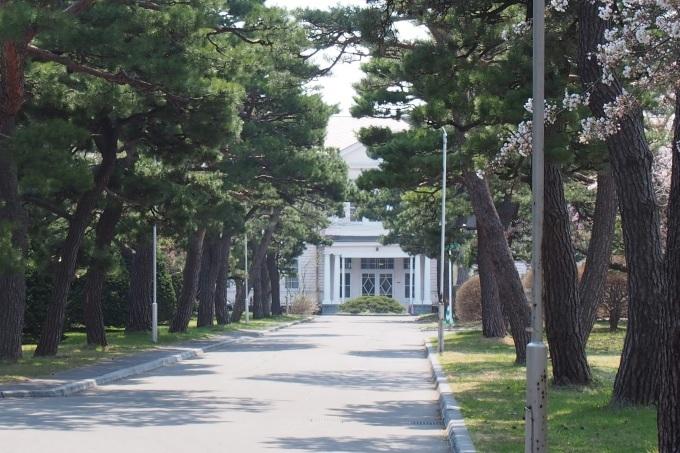 映画PとJKの函館ロケ地、遺愛学院。亀梨和也さん土屋太鳳さん、写真は二年前のです。_b0106766_07392904.jpg